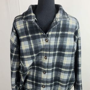 Mens Faded Glort Button Up Size XL